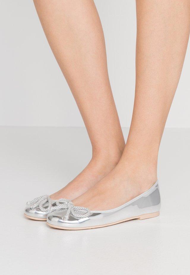 MIRAI - Baleriny - plata/coco/gris clair