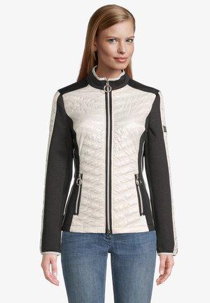 MIT STEHKRAGEN - Light jacket - schwarz