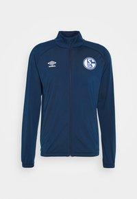 Umbro - FC SCHALKE 04 JACKET - Squadra - navy/blue sapphire - 4