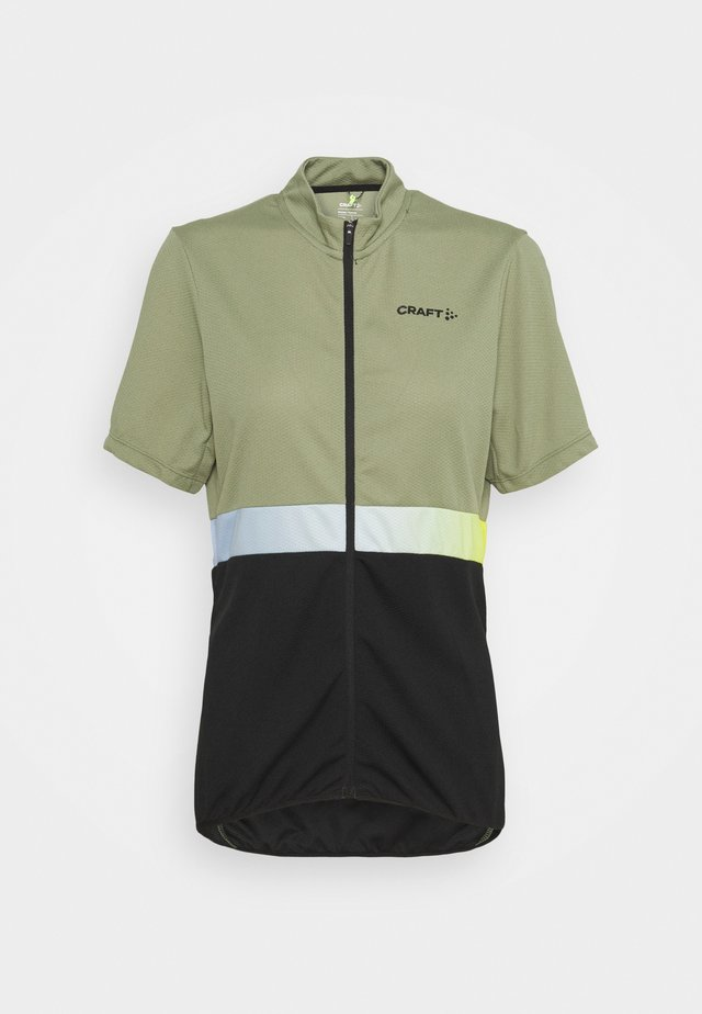 CORE ENDUR - T-shirt con stampa - forest/black