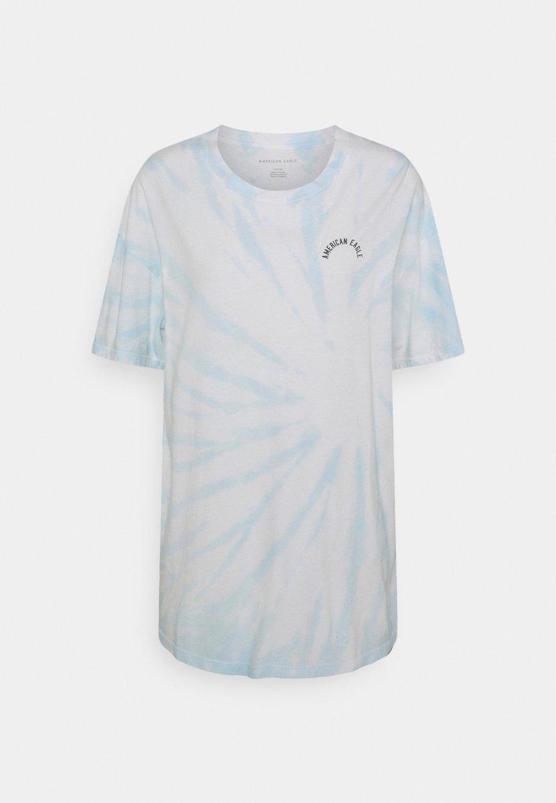 American Eagle - BRANDED FASHION LENNON TEE - Print T-shirt - blue