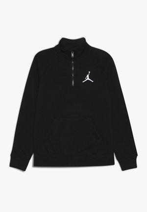 JUMPMAN ZIP MOCK  - veste en sweat zippée - black