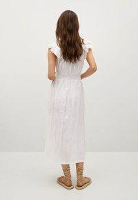 Mango - Day dress - blanco - 1