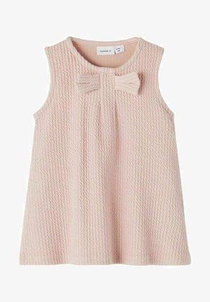 SCHLEIFE - Jersey dress - pale mauve