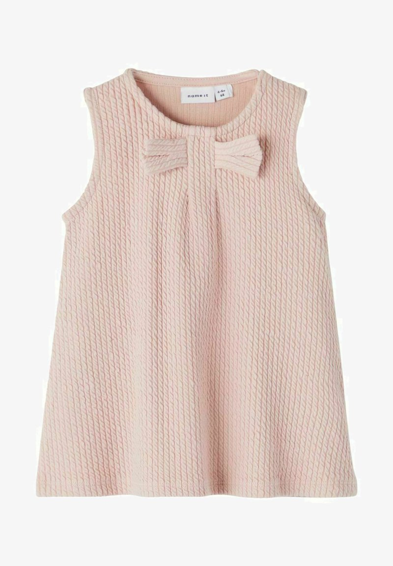 Name it - SCHLEIFE - Jersey dress - pale mauve