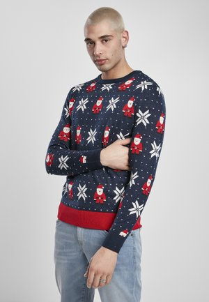 Pullover - nicolaus and snowflake aop