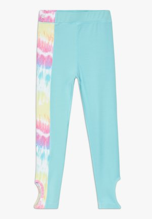 GIRLS KNOT  - Collant - rainbow/light blue