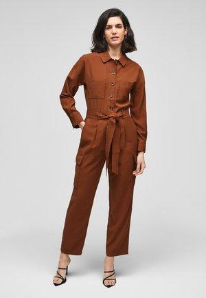 MET CEINTUUR - Jumpsuit - americano brown