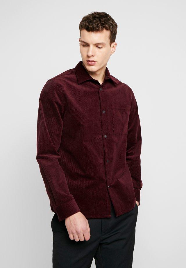 BASSO - Skjorte - burgundy red