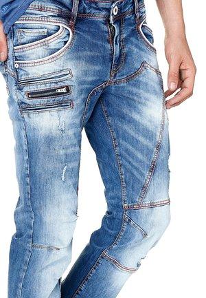 AFTON - Straight leg jeans - blau