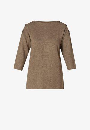 OLVIN - Long sleeved top - brown/melange