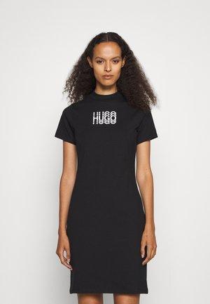 NARCISSA - Jersey dress - black