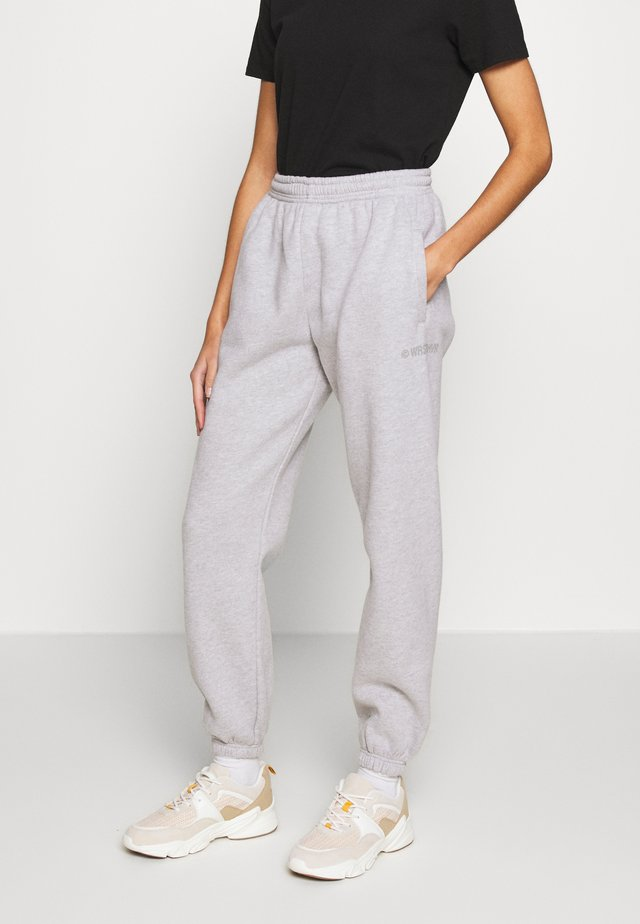 HARVEST - Pantalones deportivos - grey melange