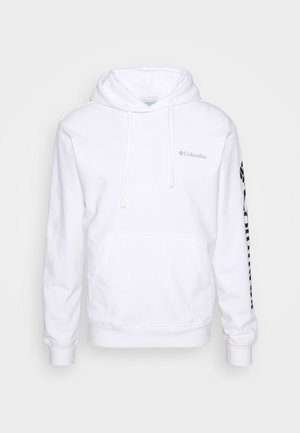 VIEWMONTII SLEEVE GRAPHIC HOODIE - Mikina s kapucí - white