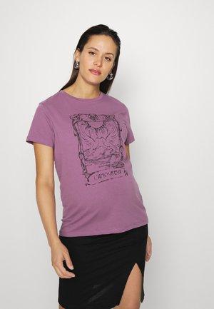 MLEDI TEE  - T-shirt print - grapeade