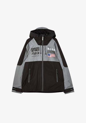 Lehká bunda - dark grey