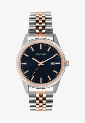 GENTS WATCH ROUND - Hodinky - silver-coloured