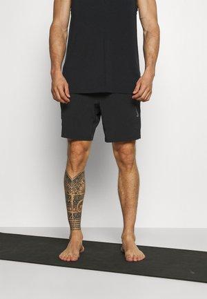 SHORT - Pantalón corto de deporte - black/gray