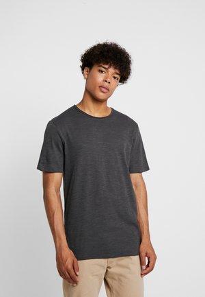 ONSALBERT LIFE NEW TEE - T-shirt basic - dark grey melange