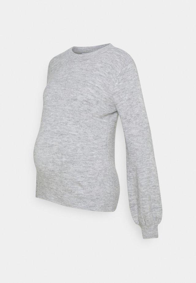 PCMPERLA - Trui - light grey melange