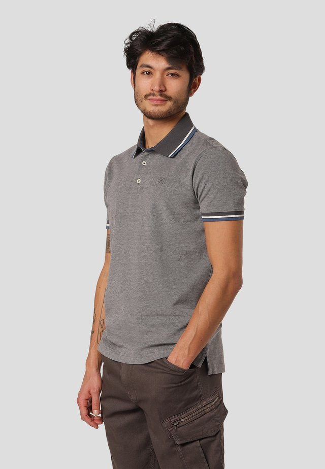 WALTON - Polo shirt - iron grey