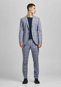 Jack & Jones PREMIUM - Blazer jacket - grey melange - 1