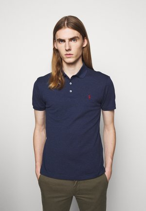 SLIM FIT - Polo - fresco blue heath