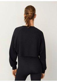 Mango - HYGGE - Sweatshirt - black - 1