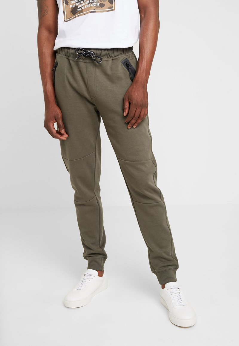 Cars Jeans - LAX - Tracksuit bottoms - army