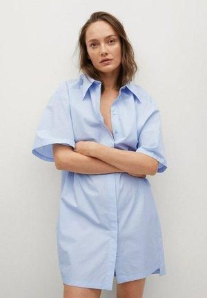 Skjortklänning - bleu ciel