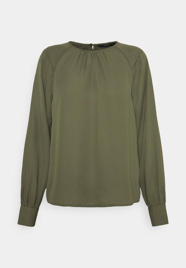 Vero Moda VMPOEL - Bluzka - ivy green/ciemnozielony FFUE