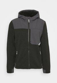 Spyder - ALPS FULL ZIP HOODIE - Fleece jacket - black - 0