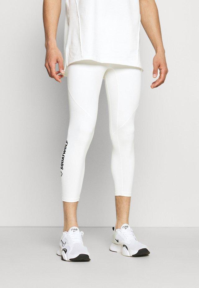 WARRIOR LEGGINGS - Collants - white