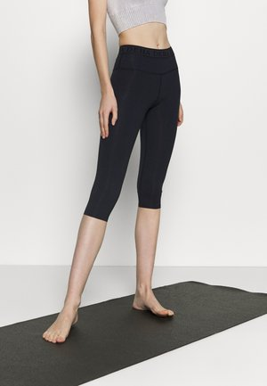 LEGGINGS 3/4 - 3/4 sports trousers - night blue