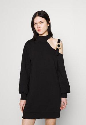 CUT OUT DRESS - Day dress - black