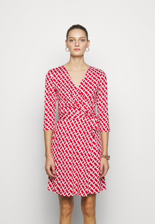 JULIAN TWO - Jersey dress - red