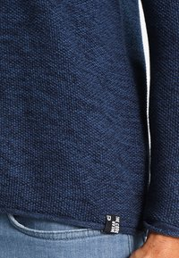 INDICODE JEANS - KRISTAN - Stickad tröja - navy - 4