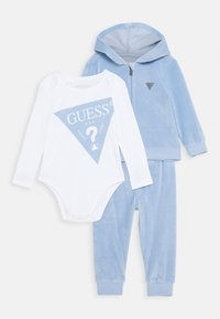 Guess - BABY SET UNISEX - Baby gifts - frosted blue - 0