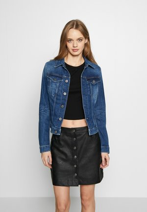 3301 SLIM - Jeansjacke - faded stone