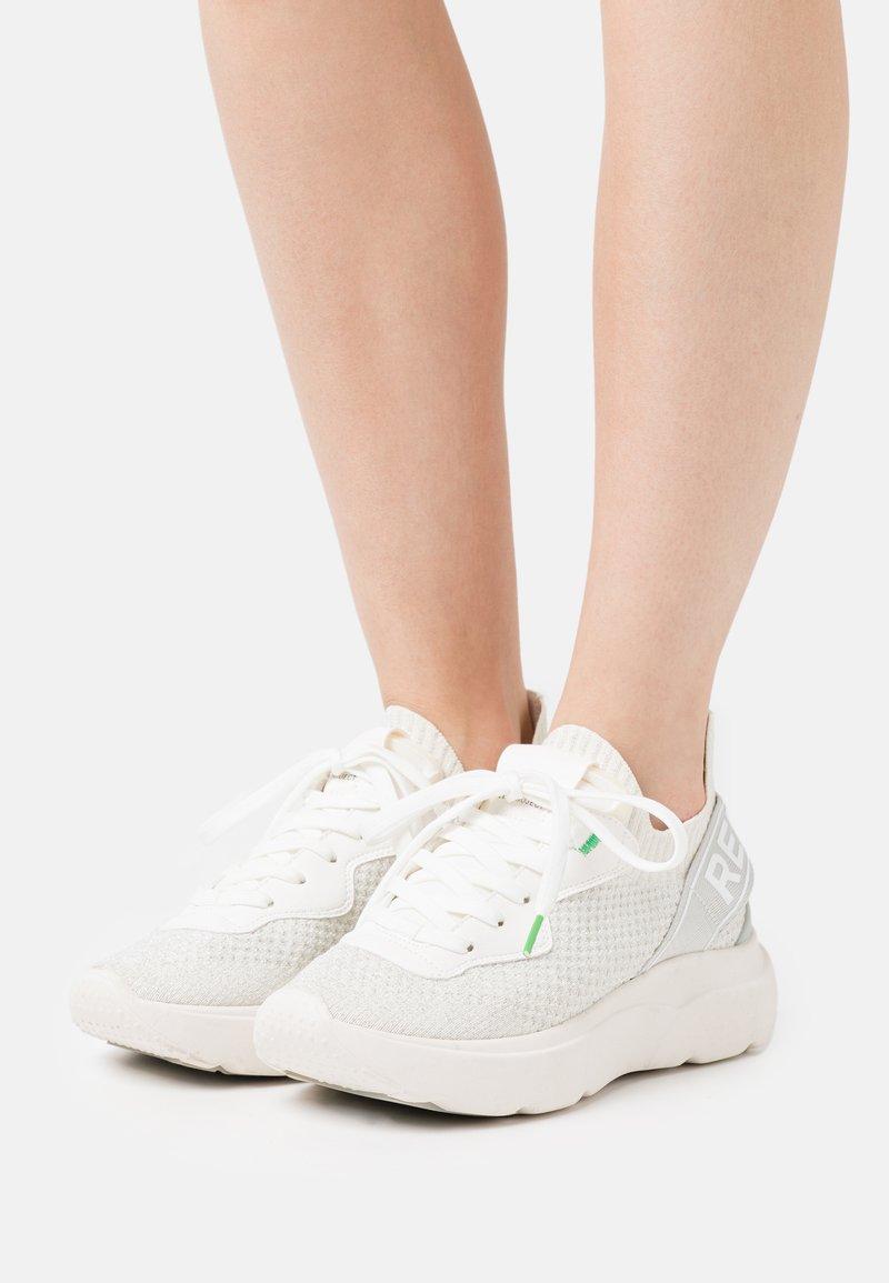 Replay - DRYTON - Sneakersy niskie - white