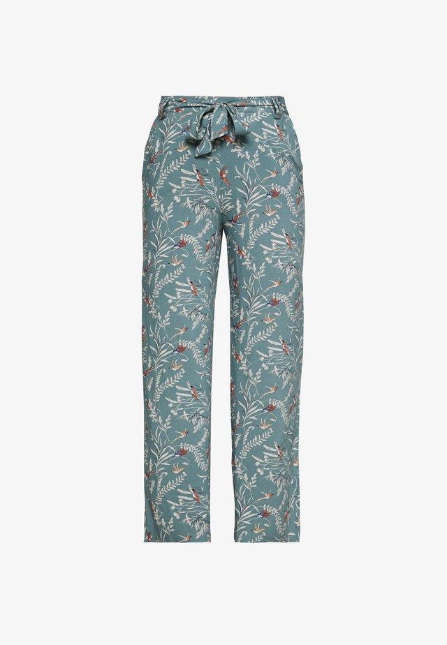 ONLNOVA LIFE PALAZZO PANT - Pantalones - chinois green