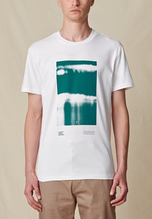 BARRELS  - T-shirt print - white