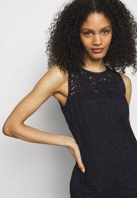 Lauren Ralph Lauren - FLORAL STRIPED DRESS - Shift dress - lighthouse navy - 3