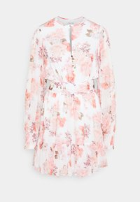 Forever New - REMY BELTED SKATER DRESS - Day dress - peach - 0