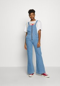 Rolla's - EASTCOAST OVERALL - Dungarees - lilah blue organic - 1