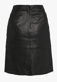 Culture - BERTA SKIRT - A-line skirt - black - 1