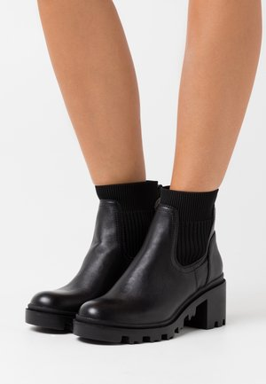 MUSCA - Classic ankle boots - begonia