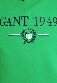 GANT - 1949 CREST HOODIE - Luvtröja - fern green - 6
