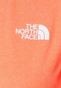 The North Face - RISEWAY ZIP - Top sdlouhým rukávem - flame heather - 2