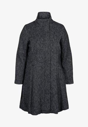 Short coat - black solid